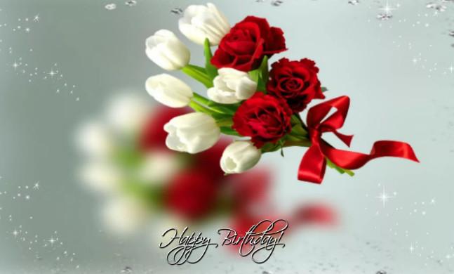 Счастья открытка для женщина Поздравления красивые до слёз