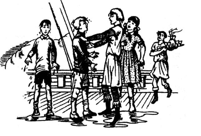 Иллюстрация 1 «Покоритель зари», или Плавание на край света