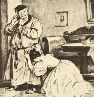 Иллюстрация 2 из романа «Дубровский»