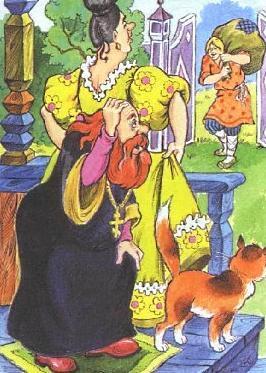 """Картинка 16 - сказка """"Сказка о попе и о работнике его Балде"""""""