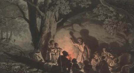 Иллюстрация 2 из поэмы Братья разбойники А.С. Пушкин