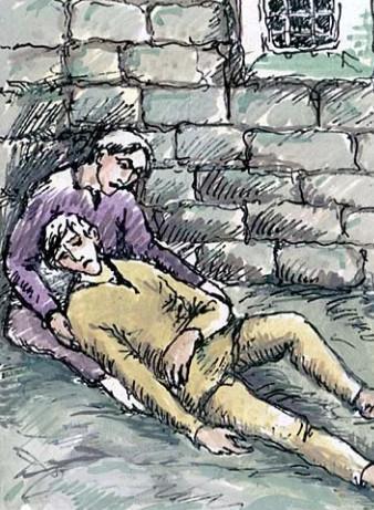 Иллюстрация 3 из поэмы Братья разбойники А.С. Пушкин