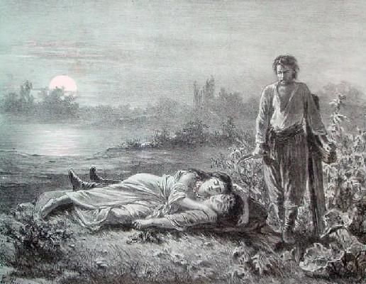 """Иллюстрация 2 из поэмы """"Цыганы"""""""