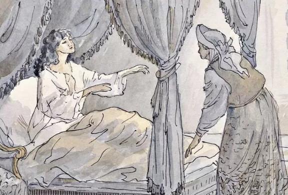 """Иллюстрация 2 из поэмы """"Полтава"""""""