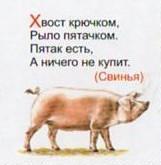 Загадка про свинью