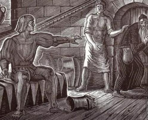 """Иллюстрация 4 """"Скупой рыцарь"""""""