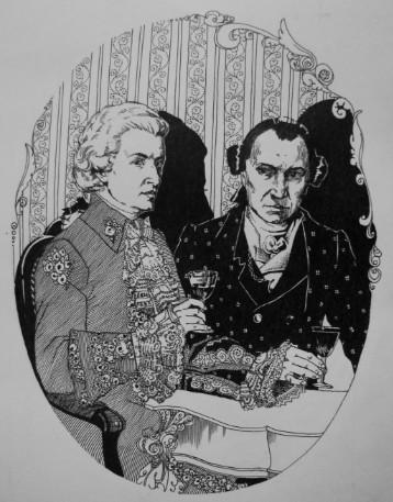 Иллюстрация 6 Моцарт и Сальери