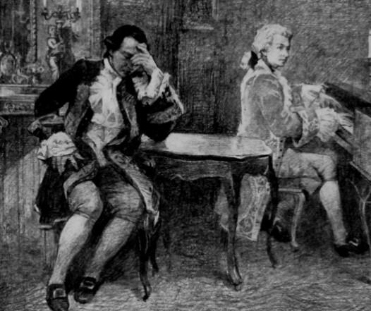 Иллюстрация 4 Моцарт и Сальери