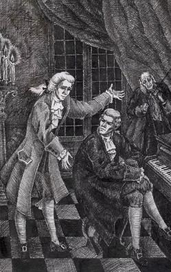 Иллюстрация 3 Моцарт и Сальери