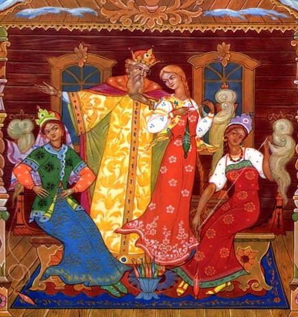 Иллюстрация 1 Сказка о царе Салтане