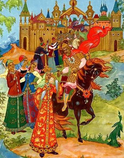 Иллюстрация 2 Сказка о царе Салтане
