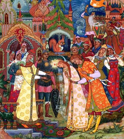Иллюстрация 6 Сказка о царе Салтане