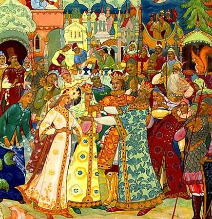 Иллюстрация 7 Сказка о царе Салтане