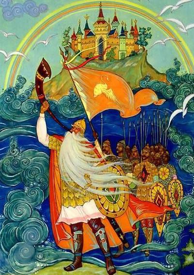 Иллюстрация 8 Сказка о царе Салтане