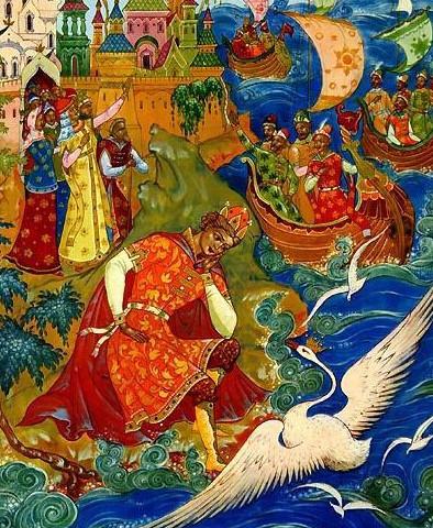 Иллюстрация 9 Сказка о царе Салтане