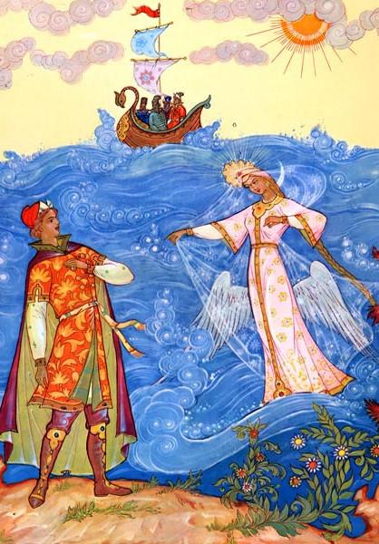 Иллюстрация 10 Сказка о царе Салтане