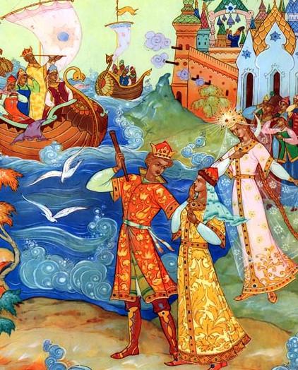 Иллюстрация 12 Сказка о царе Салтане