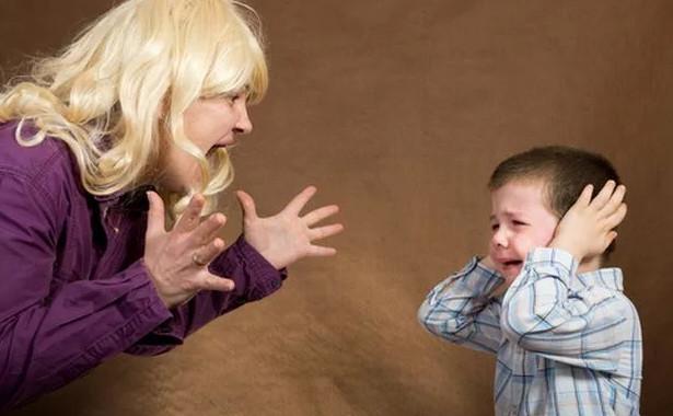 Нельзя кричать на детей