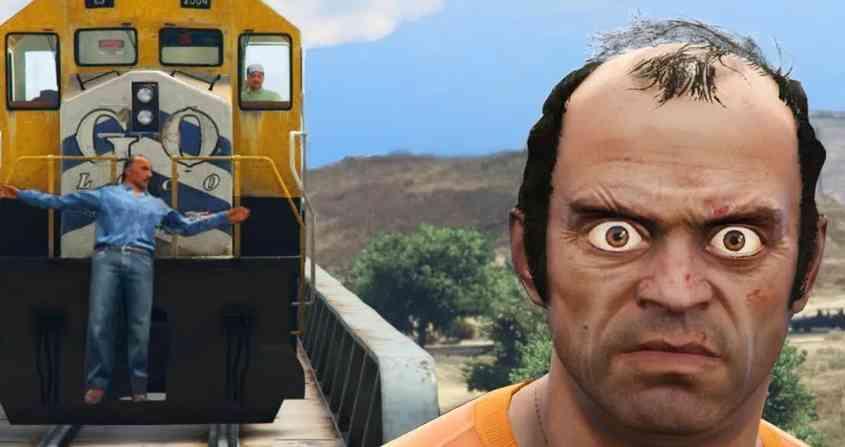 Фото прикол из игры Grand Theft Auto V