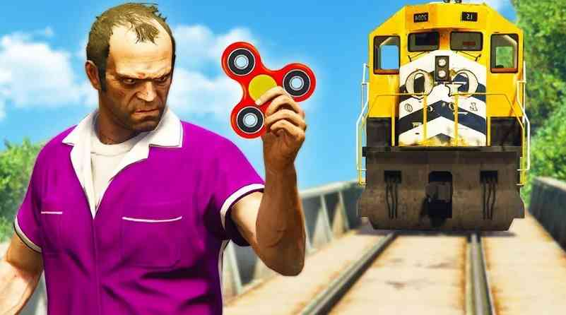 Смешная картинка из новой части Grand Theft Auto V