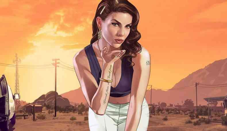 Фото №3 девушки из Grand Theft Auto V
